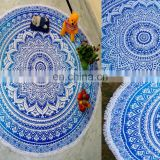 Omre Bohemian Mandala Round Beach pom pom Tapestry Hippie Throw Yoga Mat Towel Wholesale Lot Round Mandala Wall Hanging Beach