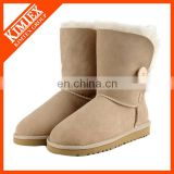 succinct warm winter boot wool inside