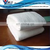 nonwoven Washable cotton&polyester quilt batting