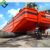 Rubber pontoon air bladder ship moving airbag for ship barge