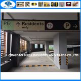 rubber road bump parking lots and parking garages  for road safety