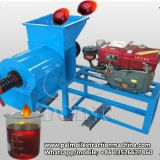 300-500kg/h small scale palm oil expeller machine used to process palm fruit