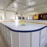 outrdoor skating Good self-lubrication synthetic ice rink panel/boards