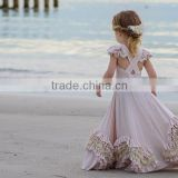 Flower Girls DRESS Light Purple birthday dress, baby dress ruffle girl's dress