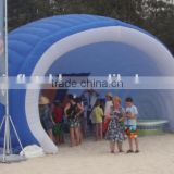 2016 Best sale inflatable stage tent,stage arch tent,dome stage cover tent for event shows