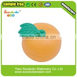 Cute fruit eraser TPR product