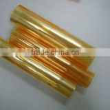 Food Blister Packing PVC Rigid Gold Film For Chocolate Packing