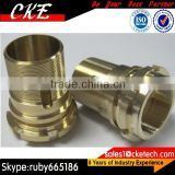 Brass Bolts Nuts Fasteners in CNC Machining Parts