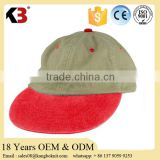 2016 Popular Fashion Design Embroidery Cotton Baseball Cap curved suede cotton baseball cap