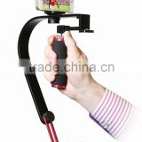 Poplar Video Stabilizer for GoPros, Smartphones, Cameras & Camcorders with Smartphone Holder & GoPros adapter,steadycam