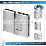 glass to glass hinge 90 degree shower door hinge/bathroom cabinet door hinges/shower door pivot hinge