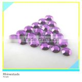 Rhinestud For Clothing Purple Round Flatback Metallic Ss10 3mm 300 Gross Package