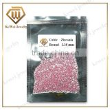 Brilliant Cut Pink 2.25 Round Cubic Zirconia Hot Sales