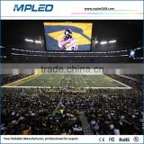 High definition football stadium perimeter led screen display for live on football games