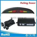 Parking distance control sensor for All cars with English Female Voice alarm and 4 rear sensors