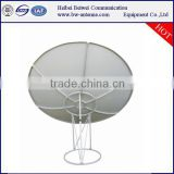 China factory direct selling satellite TV C band 240cm c-240 6ft satellite antenna 6 parts
