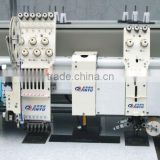 flat+single sequin +mixed chenille embroidery machine chain stitch embroidery machine