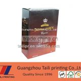 Top quality dimension of carton wine box