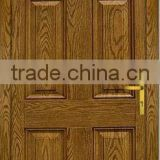 luxury design USA and Canada market wood grain fiberglass door skin
