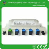 China manufacturer with High quanlity Fiber optical PLC 1 4 splitter box for communication