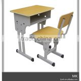 used school student fold desk and chair attached price