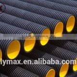 China Manufacturer ID200-1000mm HDPE Double Wall Corrugated Perforated Pipes for Drainage