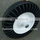 High Quality manufacturer wheelbarrow solid rubber tyre 350-4 400-8-8 3.50-6 3.50-8