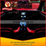Car Center Console Decorative RGBW Led Panel Lights