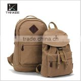 china backpack wholesaler high quality canvas backpack bag