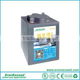 EverExceed Newly developed high quality 6V/8V/12V Maintenance Free motive power electric bike battery