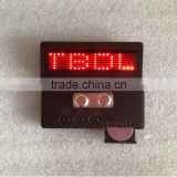 Quality certification mini led name badge/fashion mini led nameplate/mini led message board