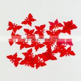Red Color Jewelry Loose Butter Fly Sequin&Paillette Beads for Crafts!!