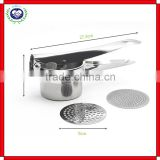 Hot Selling Kitchenware Top Rated Premium Stainless Steel Potato Ricer