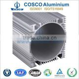 Customized 6063 Extruded Aluminum Motor Body