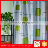 Factory wholesale fabric woven 100%polyester shower bamboo curtain
