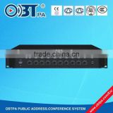 OBT-8020 Professional Pro Digital Mixer Broadcasting Power Amplifier,CE certified professional preamplifier