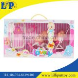 Lovely baby doll toys set with tools