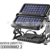 Best Selling! EV Light private mould 72pcs 10w RGBW Quad LED wash light wall light led flood light