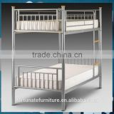 cheap and easy assemble two sinlges joint metal bunk bed for hostels                                                                         Quality Choice