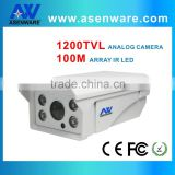 Electronic DC12v 3-7W Outdoor Bullet Casing CCTV Camera