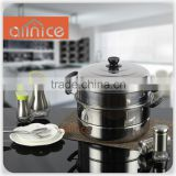 Allnice-Stainless Steel Steamer/Induction Steamer Pot/Metal Steamer Pot