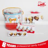 4pcs kinder chocolate pigeon egg with biscuit