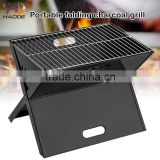 Easily clean and carry smokeless folding portable barbecue grill charcoal for outdoor usage