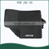 Used For JAC S5 Cheap Rubber Car Floor Mats With Logo Customized PVC Car Mat