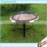 30'' Copper color steel fire pits