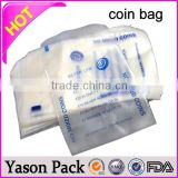 Yason self sealed coin bag pe coin bag coin packaging                                                                         Quality Choice