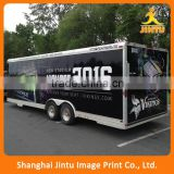 Digital printing car wrap, full color vinyl van body wrap                                                                         Quality Choice