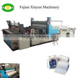 Full auto gluing kitchen towel paper production machine price