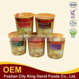 65g Cup OEM whole wheat Noodles