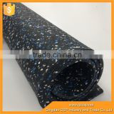 high quality rubber carpet mat roll for gym and recycled rubber flooring for boats